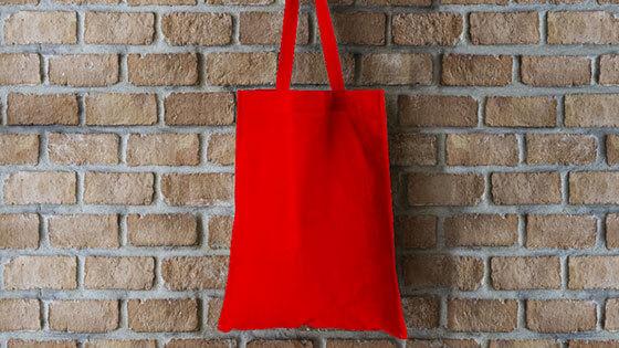 Custom branded tote bags