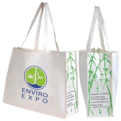 Eco-friendly promotional shopping bags