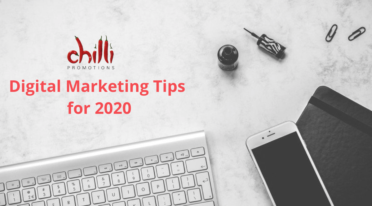 Digital Marketing Tips for 2020