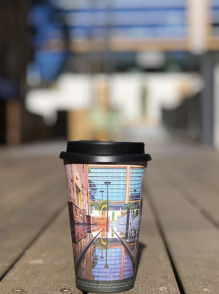 Promotional Reusable Bamboo Coffee Cups