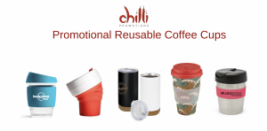 Collection of Promotional Reusable Coffee Cups