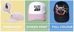 Promotional Caps Decoration Methods